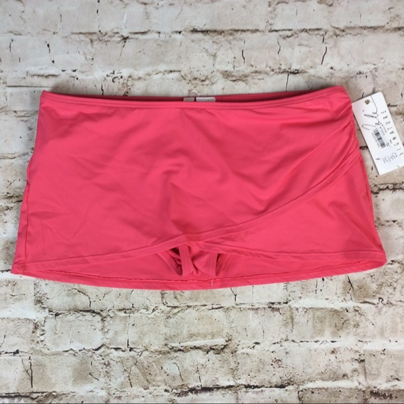 Anne Cole Other - Anne Cole Swim Skirt Paradise Pink Medium New